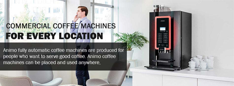Commercial Automatic Coffee Machines