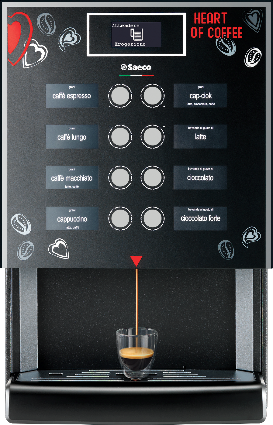 Saeco Iperautomatica Table Top Coffee Machine The Coffee Scent