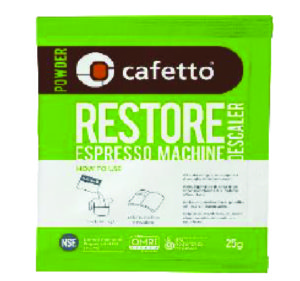 Restore Descaler Powder Cafetto The Coffee Scent